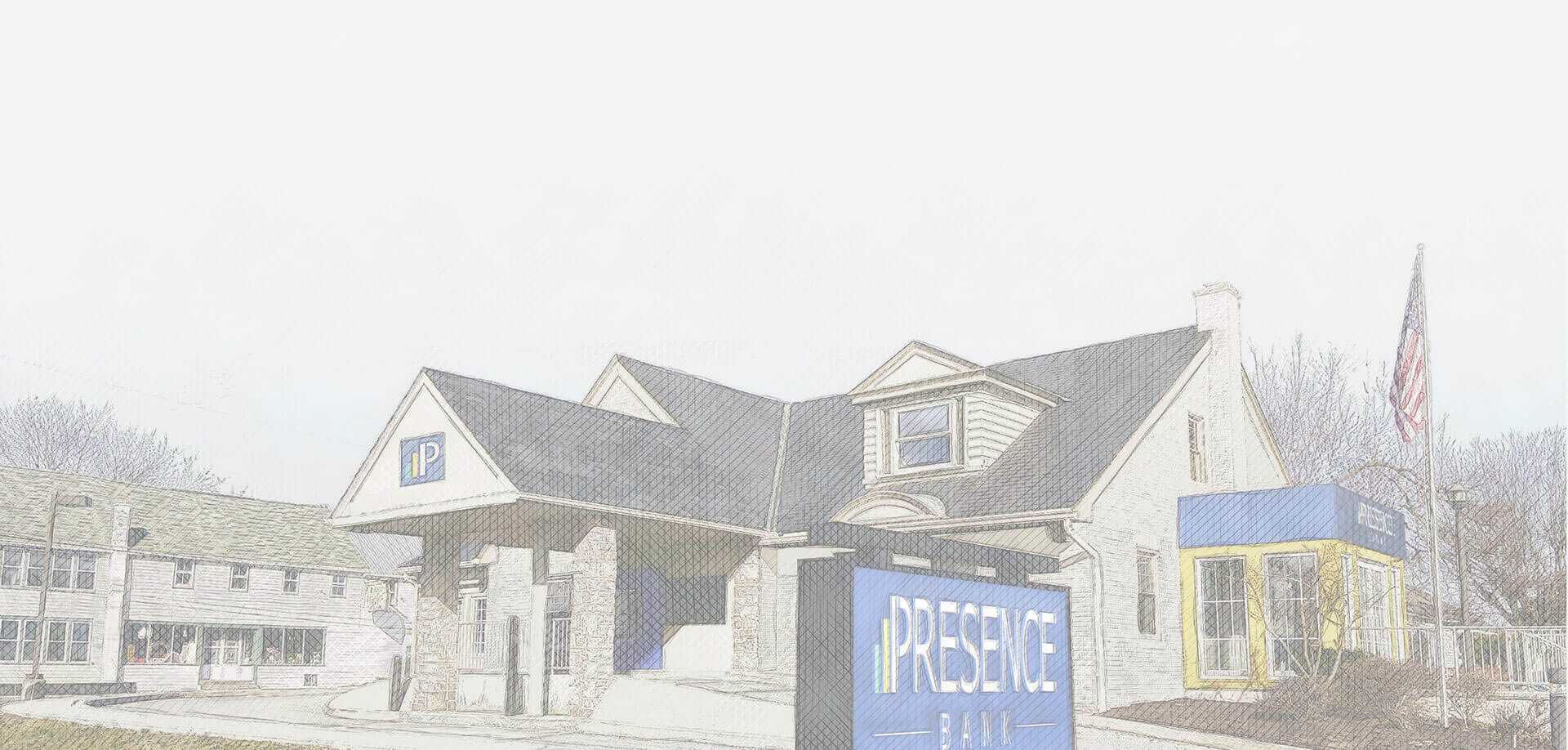 Rendering of Prosper Bank Location with Signage